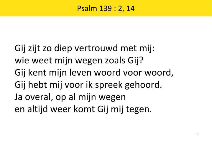 Psalm 139 :