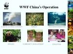 wwf china s operation