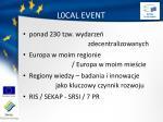l0cal event