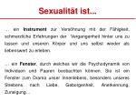 sexualit t ist