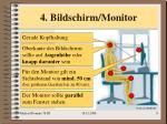 4 bildschirm monitor