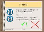8 quiz
