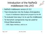 introduction of the naregi middleware into jvo