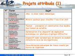 projets attribu s 1