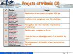 projets attribu s 3