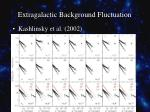 extragalactic background fluctuation4