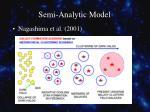 semi analytic model