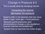 change in pressure 2