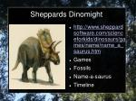 sheppards dinomight