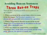 avoiding run on sentences4