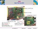 fed opto test card mk1