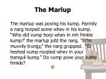 the marlup