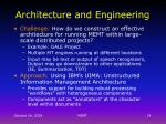architecture and engineering