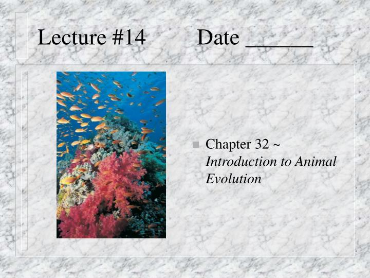 lecture 14 date n.