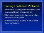 solving equilibrium problems1