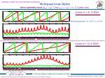 multi pass linac optics1