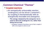 common chemical themes