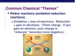 common chemical themes1