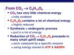from co 2 c 6 h 12 o 6