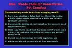bsa woods tools for conservation not camping