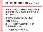 dll makoto ghost shell