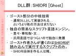 dll shiori ghost