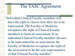 the tasc agreement3
