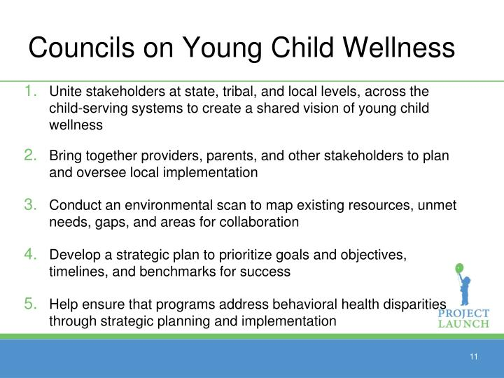 Councils on Young Child Wellness