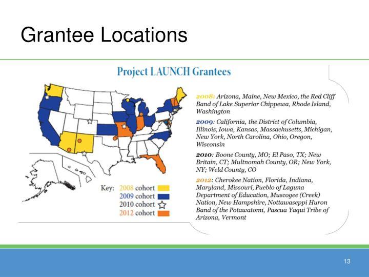 Grantee Locations