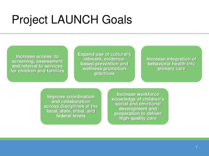 Project LAUNCH Goals