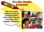 gra mar mission statement
