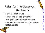 rules for the classroom2