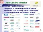 join continua health