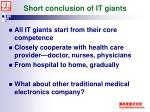 short conclusion of it giants