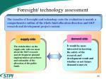 foresight technology assessment