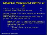 example windows file copy 1 of 3