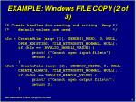 example windows file copy 2 of 3