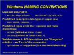 windows naming conventions