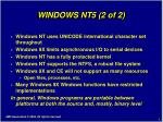 windows nt5 2 of 2