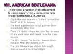 viii american beatlemania