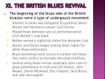 xi the british blues revival