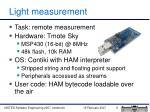 light measurement