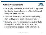 public procurements1