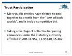 trust participation
