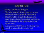 spotter rest