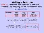 writing a rate law2