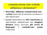 comunicazione non verbale influenza i destinatari1