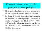 comunicazione non verbale prospettiva antropologica1