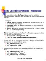 b les d clarations implicites