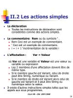 ii 2 les actions simples